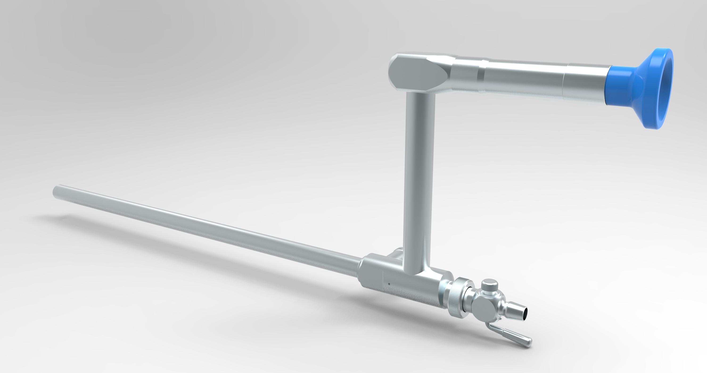 Single Puncture Laparoscope